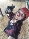 Selfie in mijn kabelbaan outfit