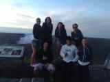 groepsfoto @ de vulkaan