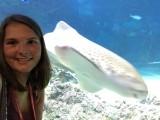 selfie met een haai