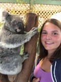 Selfie met koala
