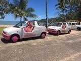 barbie auto's