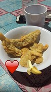 Gefrituurde banaan!!! mjaaam