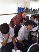Een serieuze leraar is saai