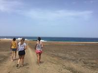 zand, rots en zee