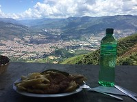 My lunch with view