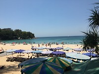 Kata Beach, vanaf een terrasje