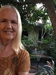Zalige relaxtuin met vijver laatste avond Thailand