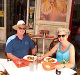 Menu del dia in Malaga