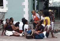 vrolijke Afrikanen