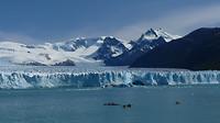 kayaks bij Perito Moreno