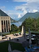 Ons uitzicht uit hotel Delfino