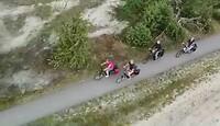 Op de fiets door het Lemeler veld