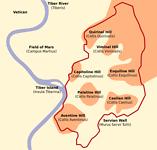 De 7 heuvelen van Rome