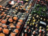 Sushi per stuk verpakt