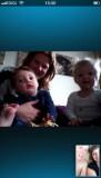 Skypen met onze favoriete neefjes