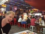 Eten op de markt in china town