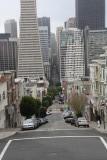 Hier viel het fietsen door SF wat tegen, maar wat een coole stad