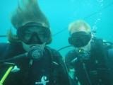 Duiken aan de caribische kust was een aangename verrassing