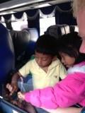 Kindjes vonden onze iPad erg leuk!