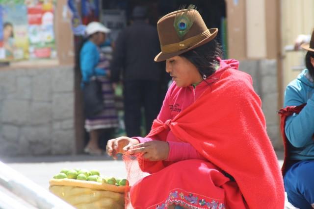 Typisch Ecuadoriaanse kleding