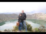 Aan de rand van het kratermeer