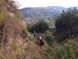 Tijdens hike van ene dorp naar andere