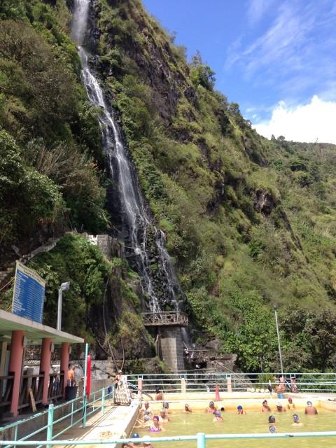 De lokale baños in Baños