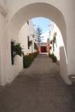 Straatje in het klooster in Arequipa