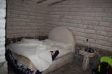 Ons bed in het zout hotel.. geen grapje, alles is van zout!