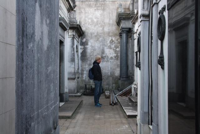 Gigantisch en indrukwekkend kerkhof in wijk Recoleta