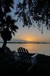 Zonsondergang bij Paradise Point