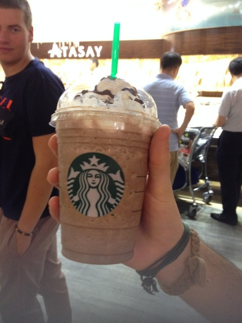 Starbucks koffie in Istanbul