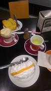 Koffie en thee met iets lekkers bij Cinderella