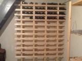 Wijnrek voor 144 flessen!