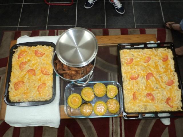 Het Eten Voor Jenny S Verjaardag Foto Esther Vandebeeck S Reisblog
