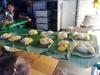 Mango sticky rijst, mmmhhhhh...