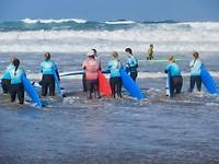 surfers die veel moed hebben