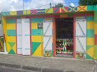kleurrijke winkels