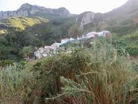 Chamorga , een dorp op het einde van de wereld.
