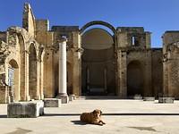 Salemi. Verwoeste kerk