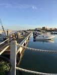 Terrasje aan de haven