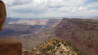 Uitzicht vanaf de watchtower over de Grand Canyon
