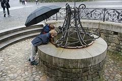 zilina met regen
