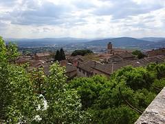 Uitzicht over het mooie Umbrië