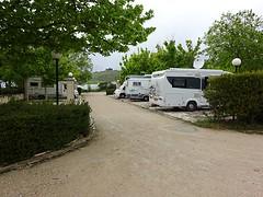 Onze plaats op de mooie CP in Matera