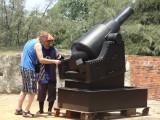 Wim en zijn kanon :-)