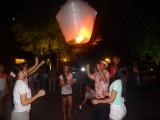Wensballon oplaten, magisch!