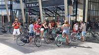 fietstocht door oud en nieuw Milaan