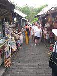 de straatjes voot Tanah Lot