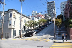 2498 Vakantie Amerika 12-08-2016 - San Francisco - steile weg